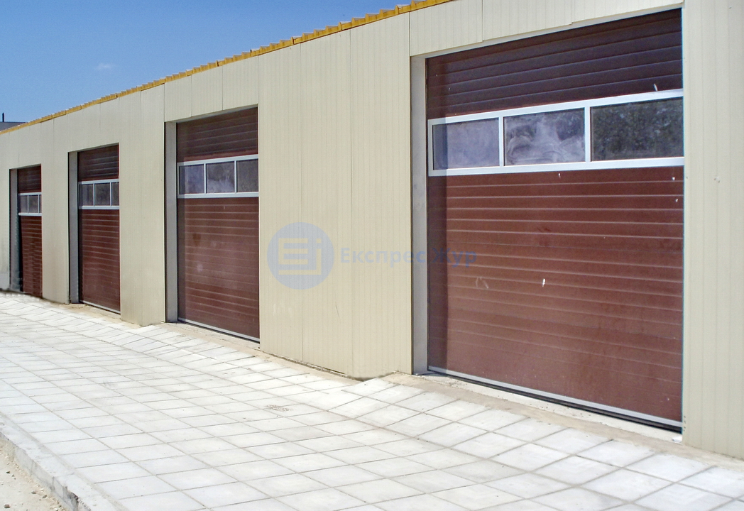 Garage doors manufactured by Express Jour Ltd. Varna