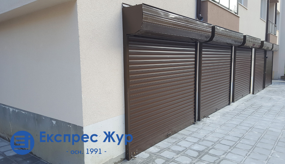Ролетни врати поставени от Експрес Жур ЕООД във Варна.